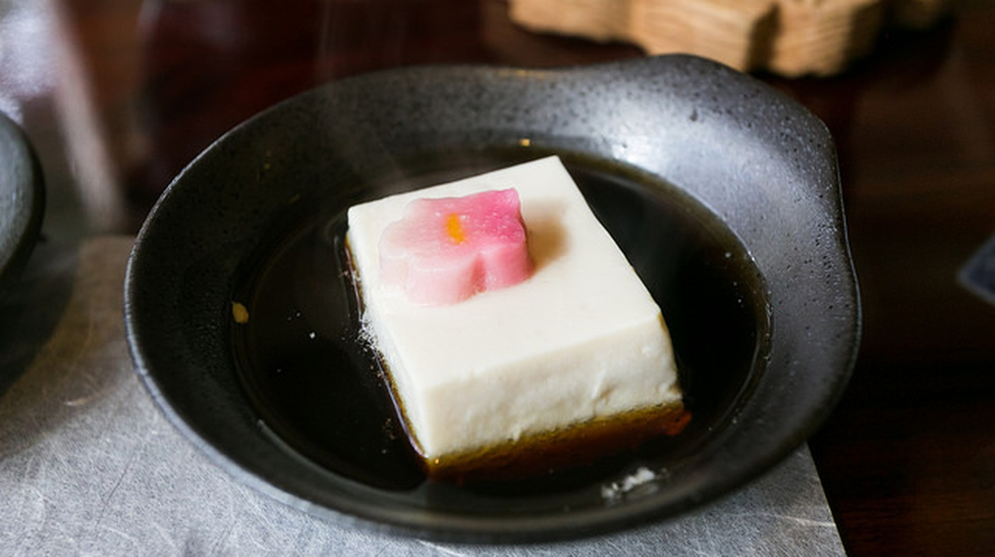 Yudofu at Shoraian in Kyoto| ©  City Foodsters  Flickr