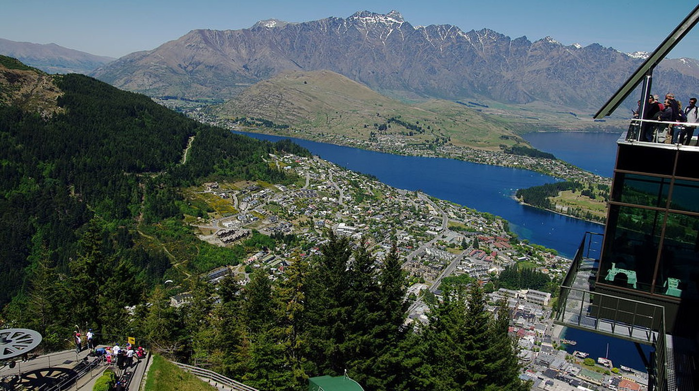 Bob's Peak, Queenstown | © Bgabel/Wikimedia Commons