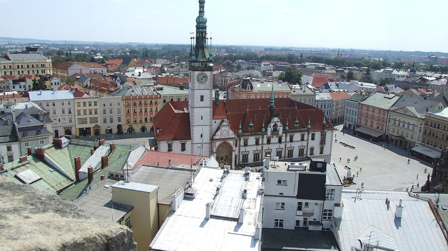 View of Olomouc from above | © Adamsrockmetal / Wikimedia Commons