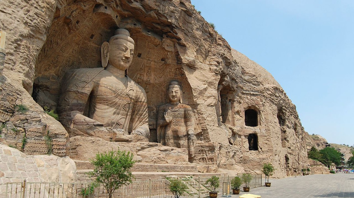 Yungang Grottoes | © Wikimedia Commons