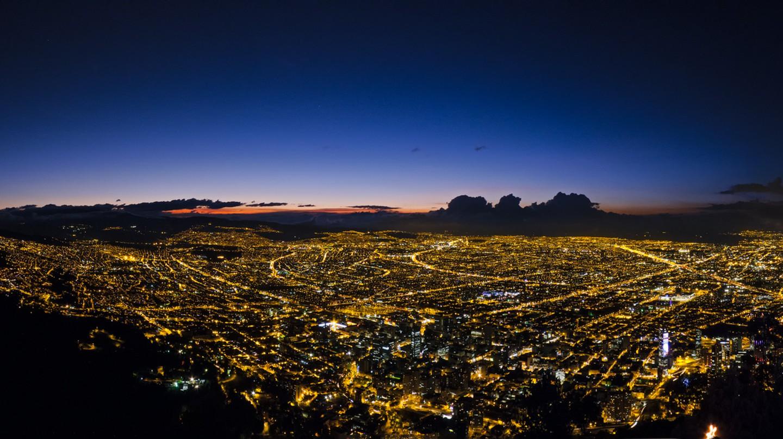 Bogota at dawn