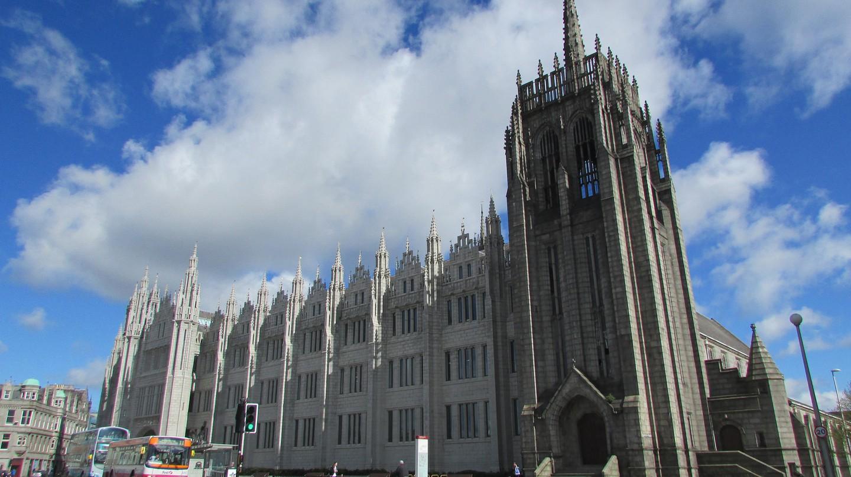 Greyfriar's Church and Marischal College | © Tom Bastin/Flickr