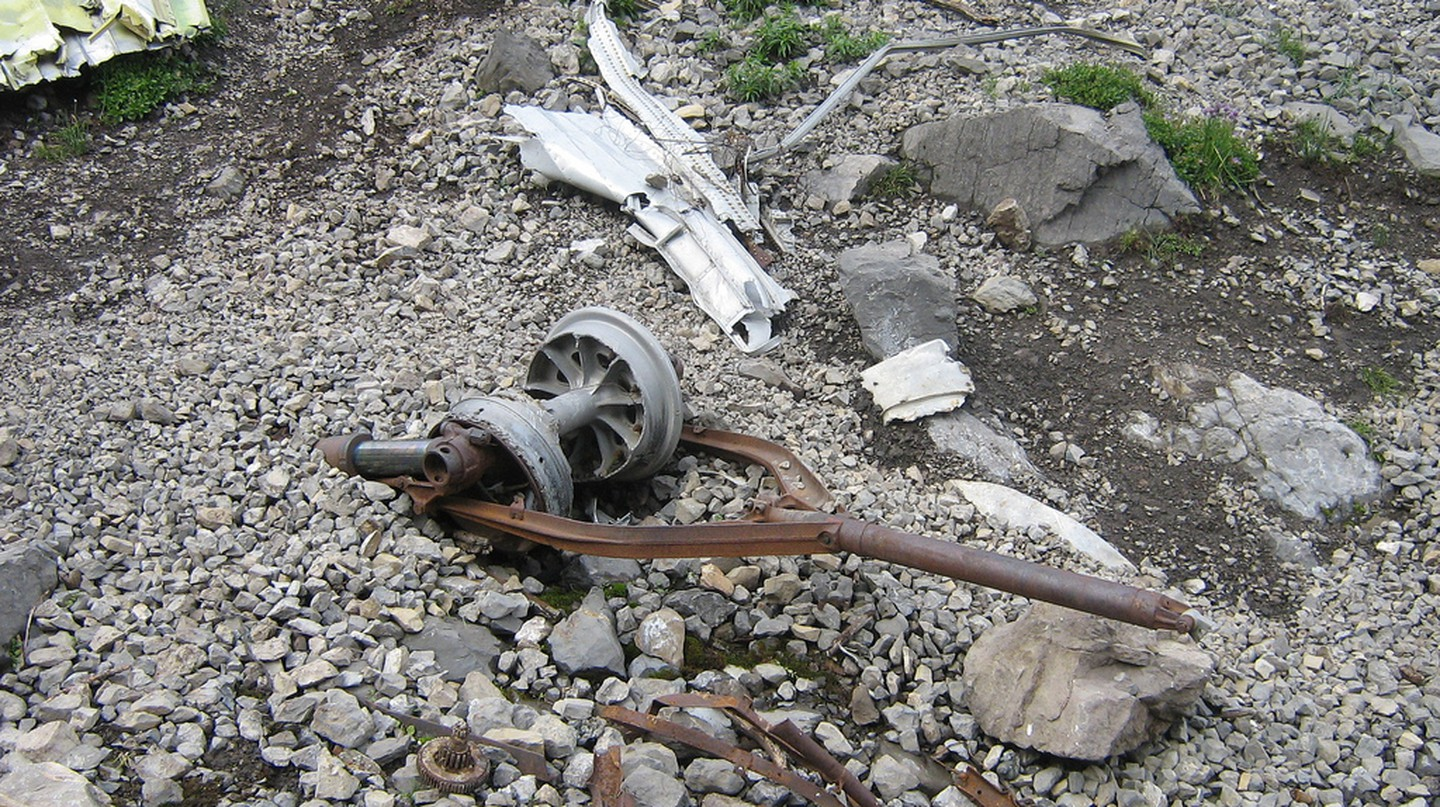 Dakota Plane Crash - wreckage | © dave_7 / Flickr