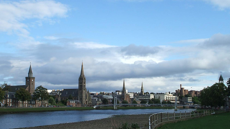 Inverness Spires | © Dave Conner/Flickr