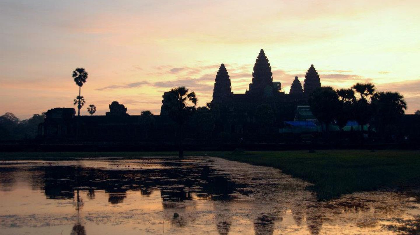 Sunrise at Angkor Wat is popular with visitors  | © Marissa Carruthers