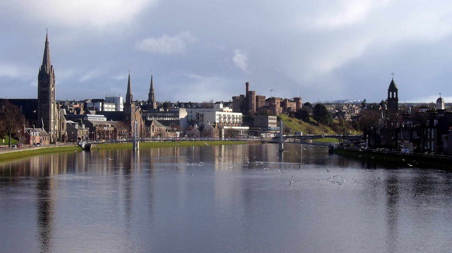 River Ness and Inverness Skyline | © Dave Conner