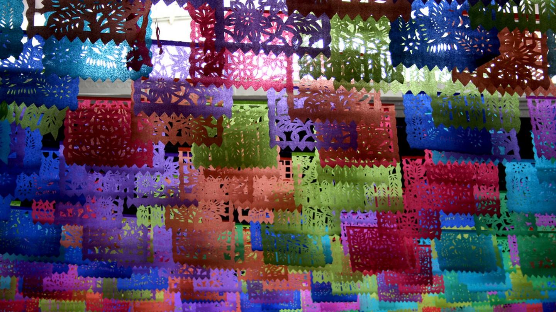 Easter paper decorations in San Cristóbal de las Casas © Chiara/Flickr