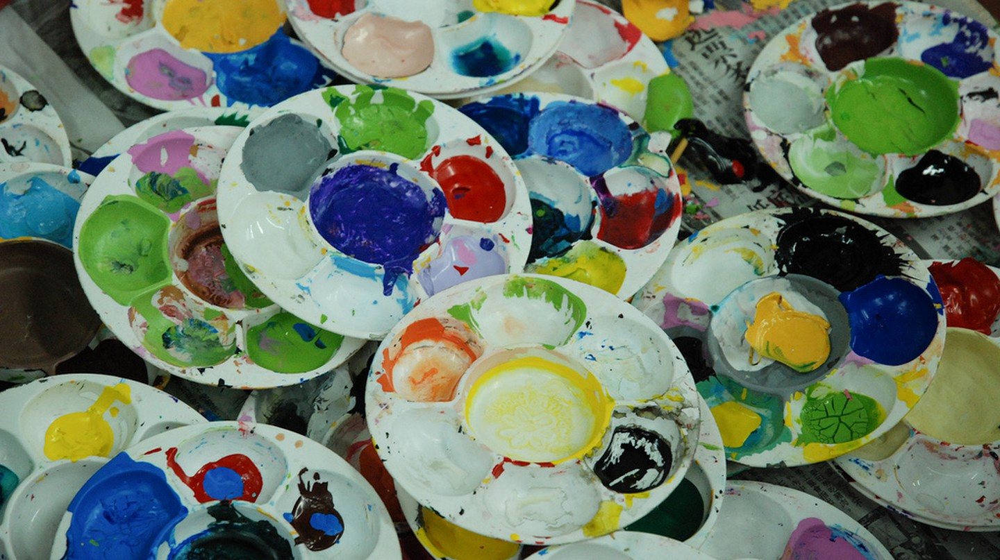Paint Pots | © Windslash / Flickr