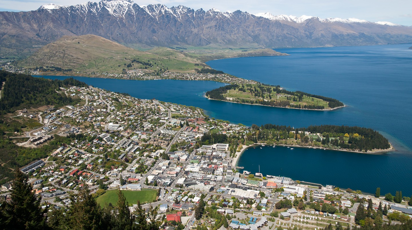 View of Queenstown from the Skyline Gondola | © Jason Pratt/Flickr