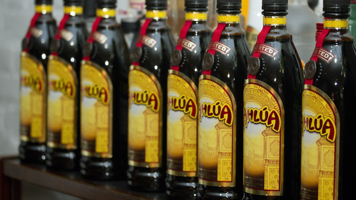 Kahlúa bottles | © alyssalaurel/Flickr