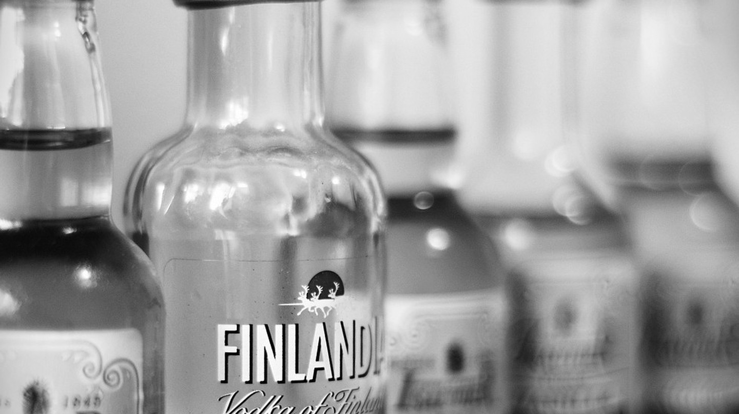 Bottles of Finnish vodka | © Vicente Villamón/Flickr