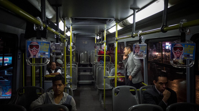 A pleasingly empty bus in Mexico City | © Eneas de Troya/Flickr