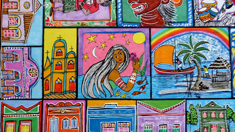 Art mural, Salvador, Bahia