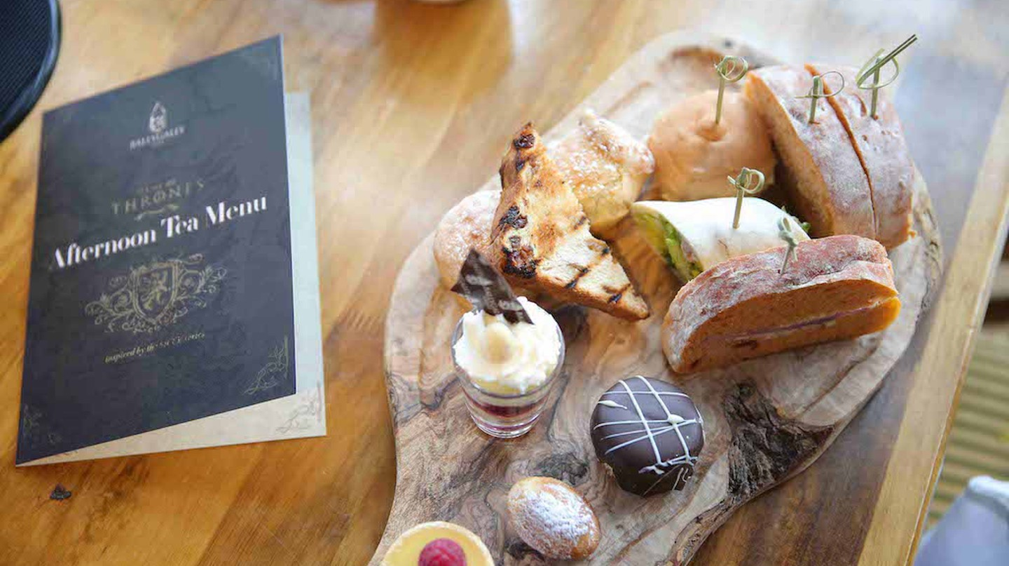 Game of Thrones Afternoon Tea | Courtesy of Ballycastle Hotel