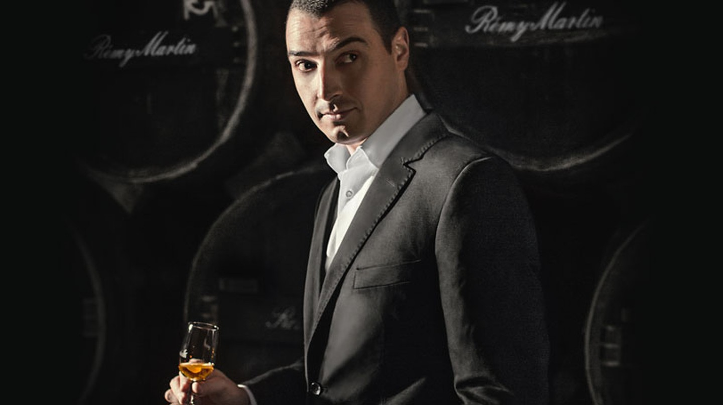 Cellar Master Baptiste Loiseau from the House of Remy Martin | Courtesy of Remy Martin