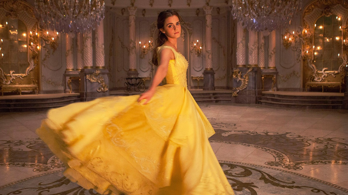 Emma Watson as Belle in Disney's BEAUTY AND THE BEAST | © Disney
