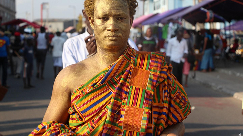 Artist Benard Akoi at Chale Wote Festival |© Kwabena Akuamoah-Boateng / Flickr