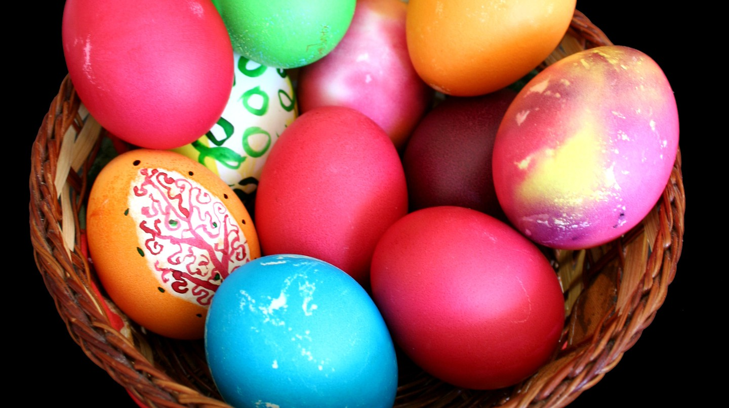 Painted Easter eggs | © Ikonact/WikiCommons
