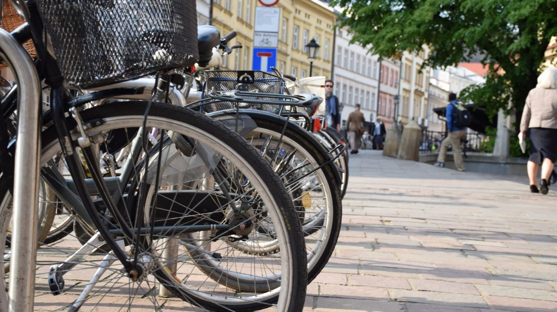 Bikes in Krakow   © JRF