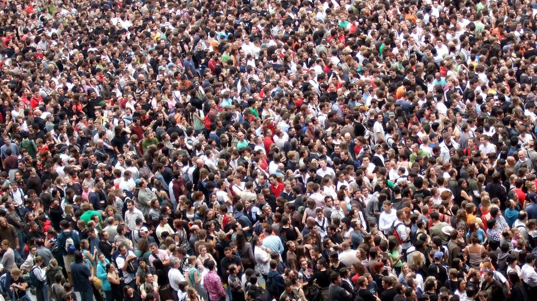 Crowd | © James Cridland/Flickr