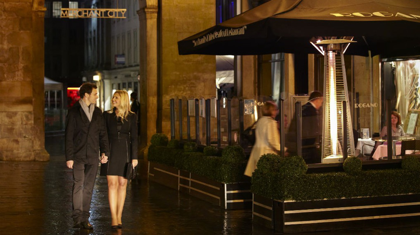 Evening-Out In Royal Exchange Square | Courtesy Of Glasgow Life