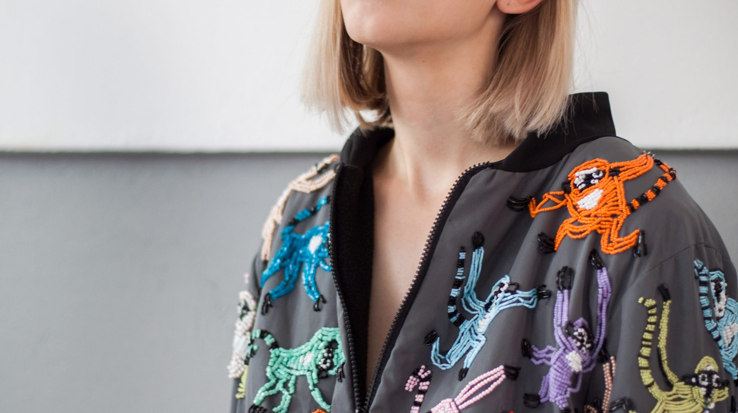 Macaque Jacket from Sheila-Madge Designs | Courtesy of Sheila-Madge Bakker