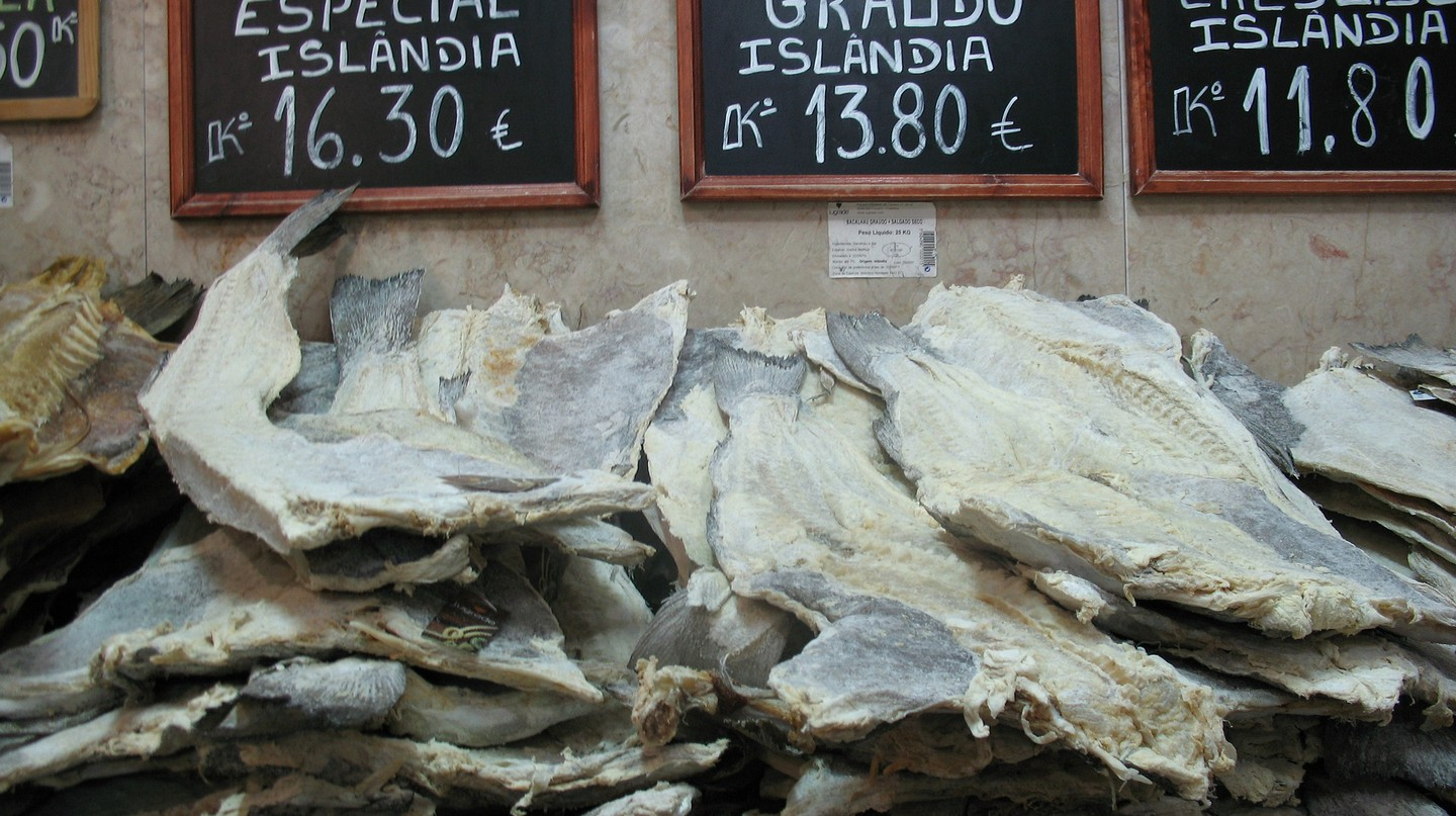 Salted cod in Portugal © Pixabay