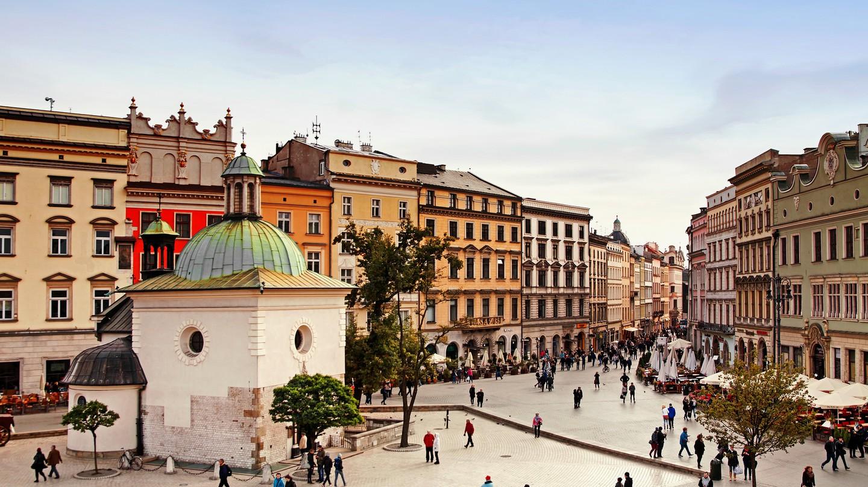 Sukiennice town market square in Krakow | © Pawel Pacholec/Flickr