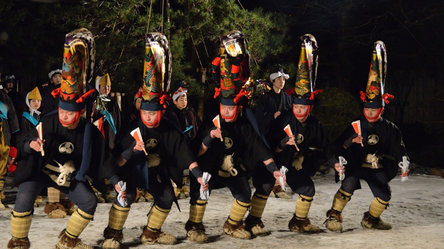 Hachinohe Enburi Festival in Aomori Prefecture| © Hachinohe Tourist Information Website