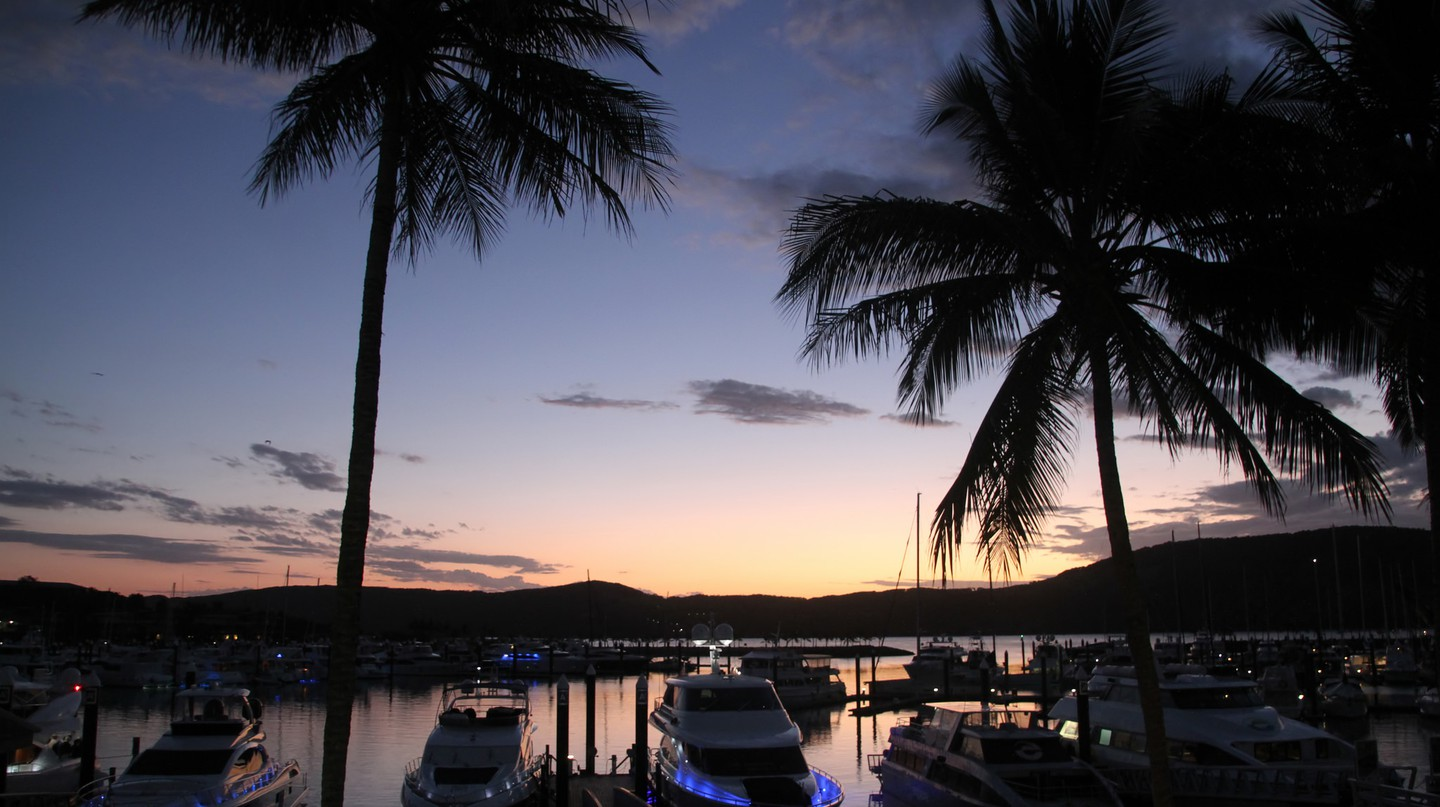 Hamilton Island sunset | © Tony Hisgett/Flickr