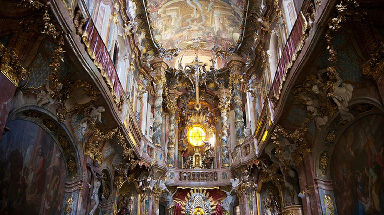 Inside Asamkirche © Nico Kaiser / Flickr