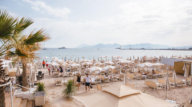 Carlton Intercontinental Hotel Beach, Cannes, France
