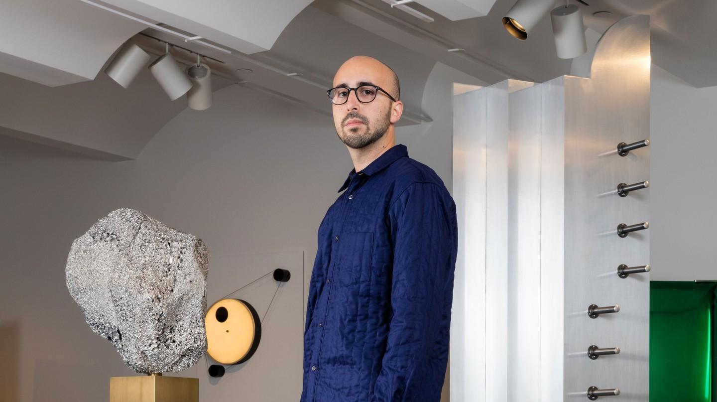 Juan Garcia Mosqueda, founder of New York design gallery Chamber | © Lauren Coleman