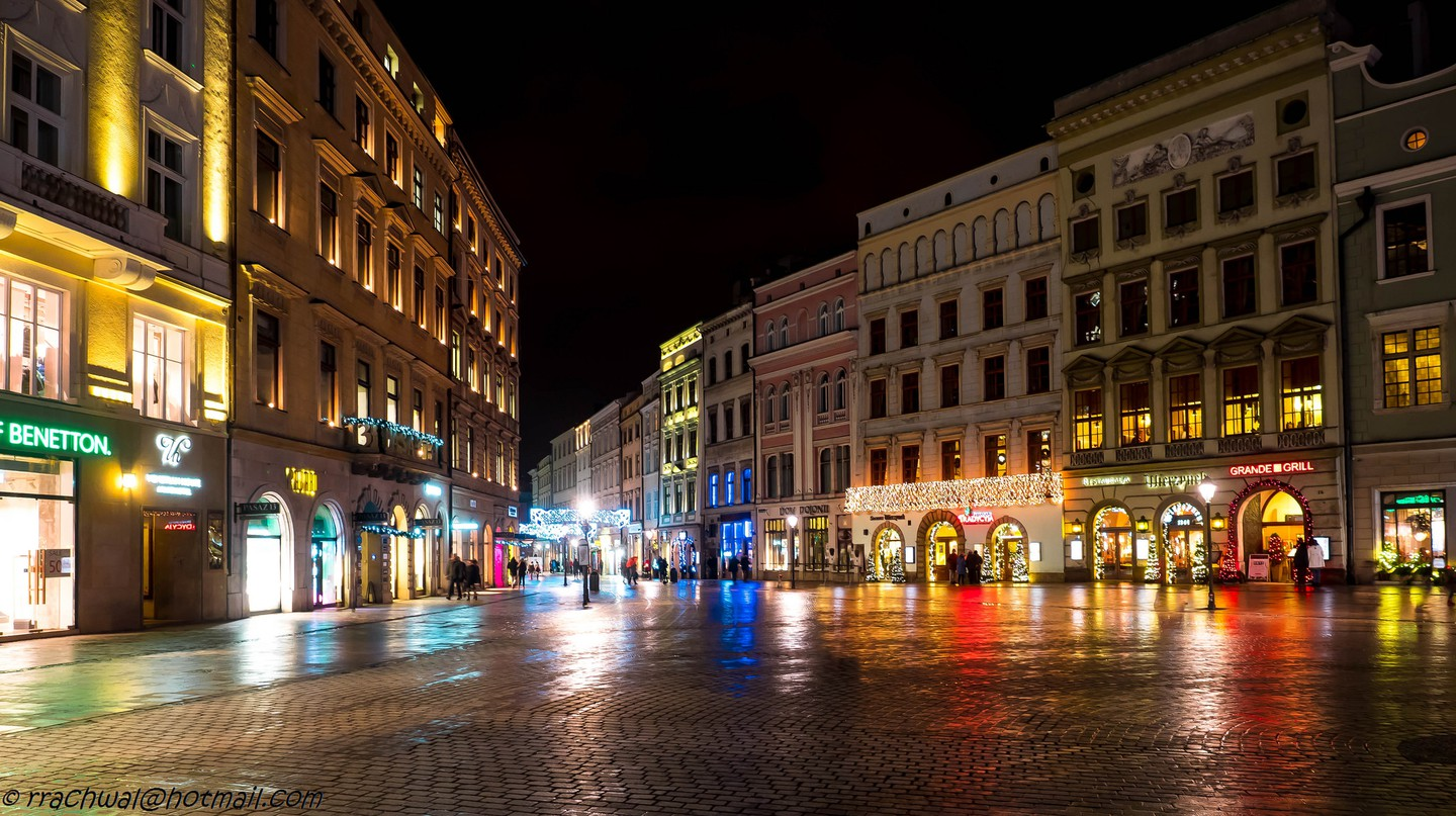 Krakow by night | © Robert/Flickr