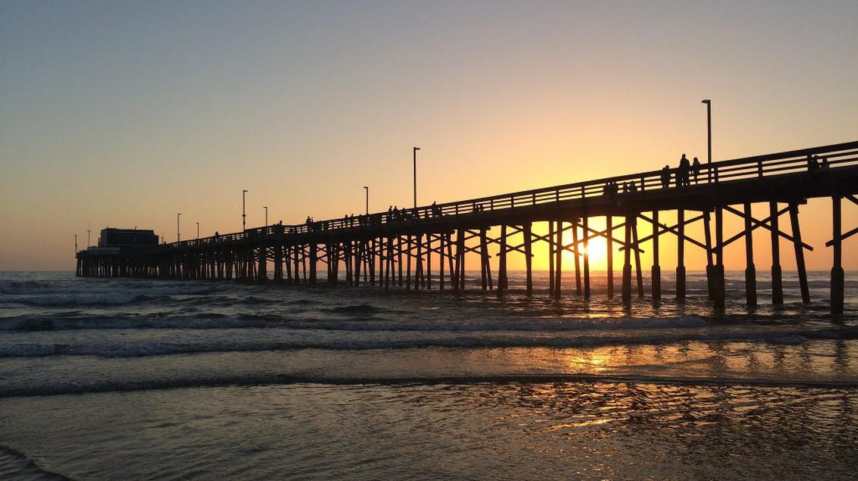 Newport Beach Pier|©Sergei Gussev/Flickr