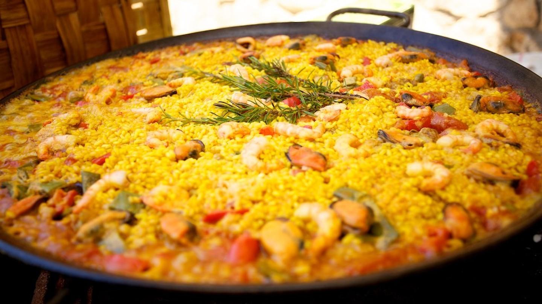 Spanish paella © Jonathan Pincas/Flickr
