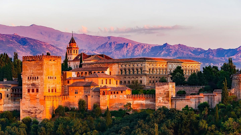 The Alhambra of Granada CC0 Pixabay