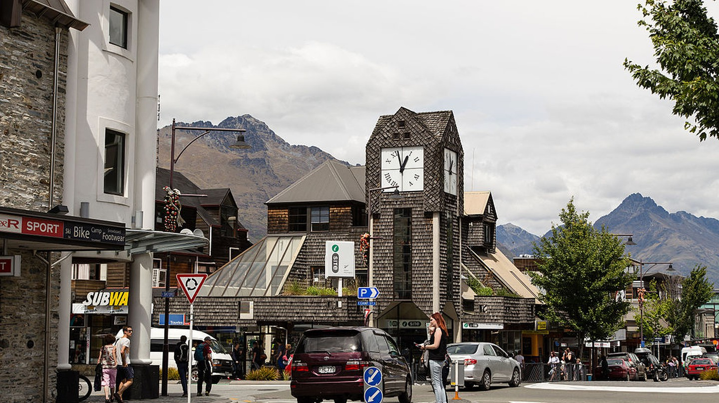 Queenstown I-Site | © Florian Bugiel/WikiCommons