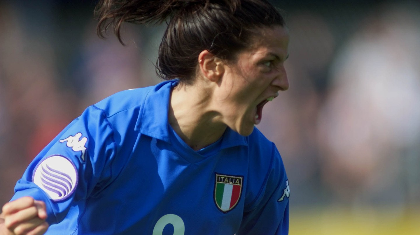 Patrizia Panico is Italy's all-time leading goal scorer | © THOMAS KIENZLE/AP/REX/Shutterstock