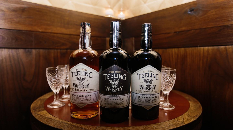 Teeling Irish whiskey   © Dan Robinson Photography