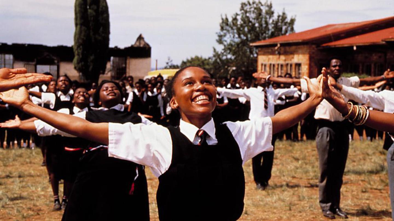 Leleti Khumalo in Sarafina! | Courtesy of Miramax