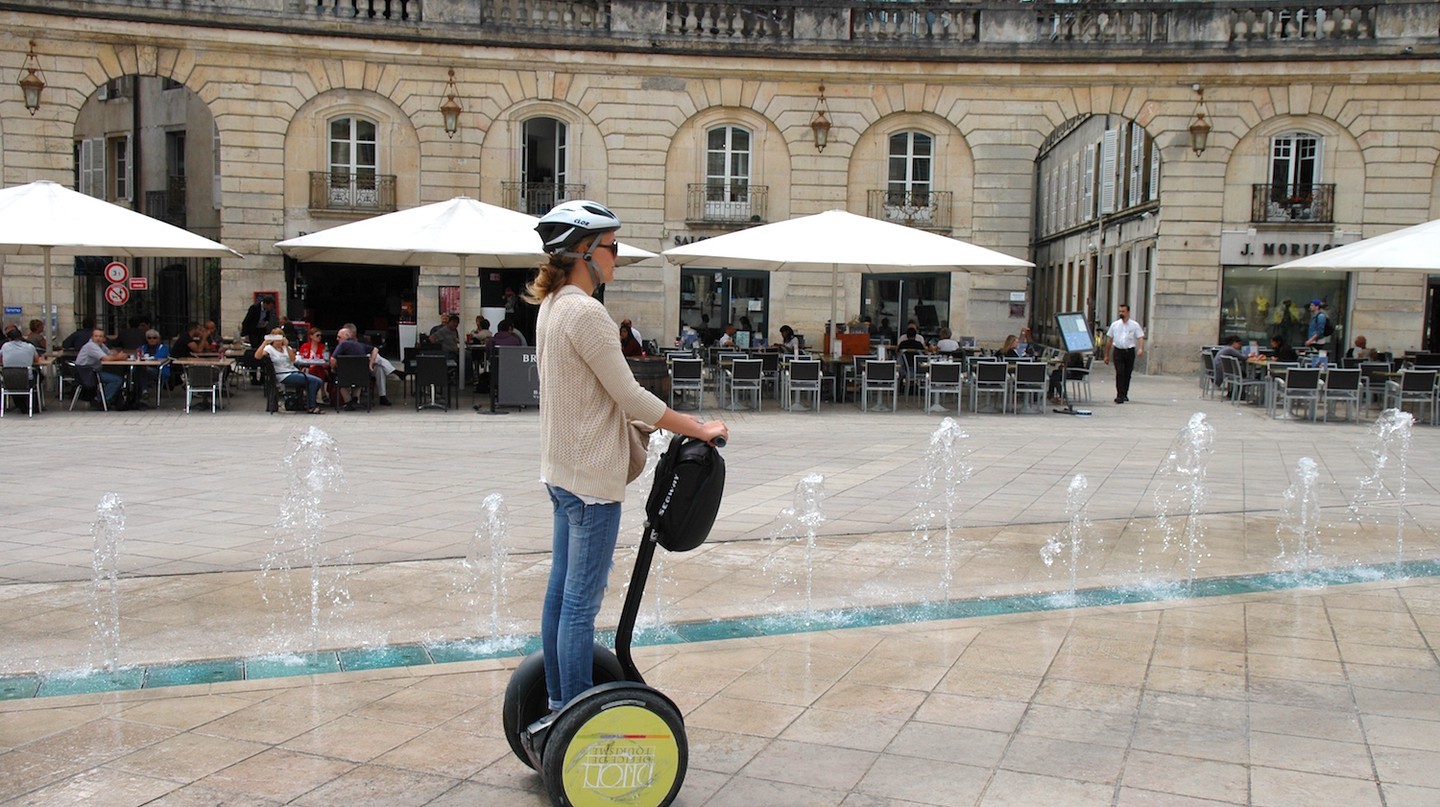 Segway tour in Dijon