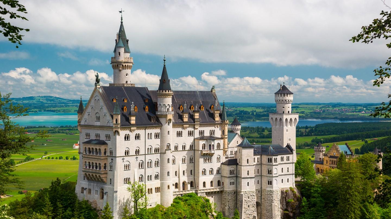 19th Century Neuschwanstein Castle
