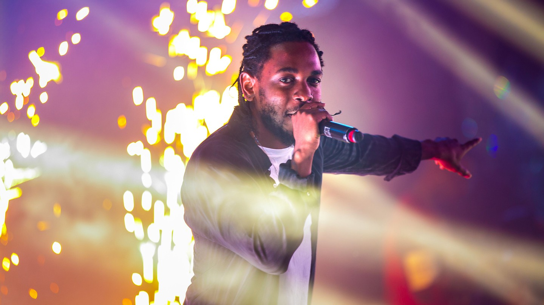 Kendrick Lamar performing during New Years Eve in Las Vegas | © MediaPunch/REX/Shutterstock