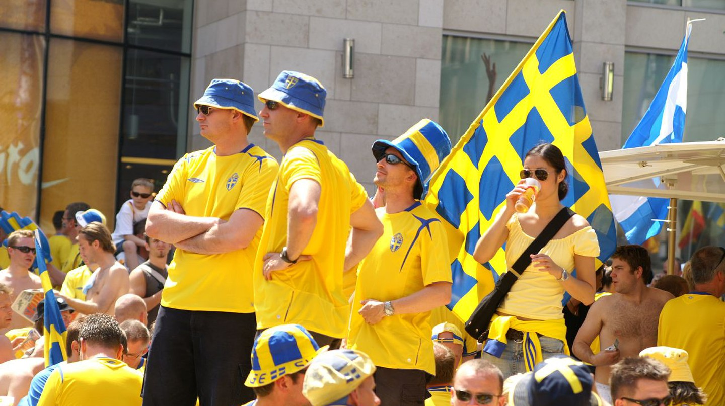 Swedish sports fans | © Wikipedia Commons