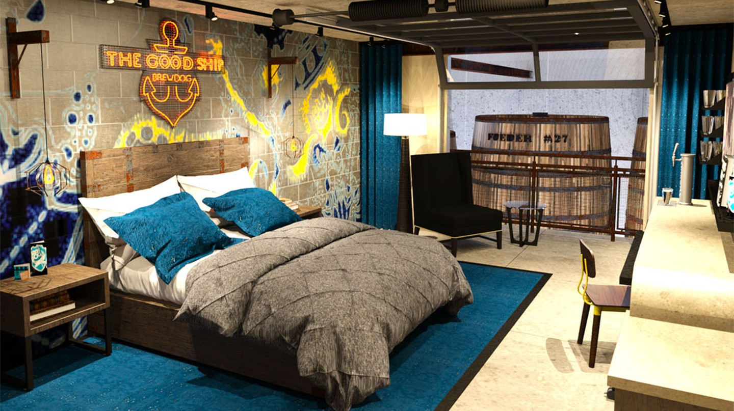 A DogHouse Bedroom | © BrewDog