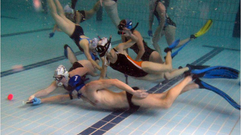 Underwater hockey match © Ingmar Janßen-Holldiek