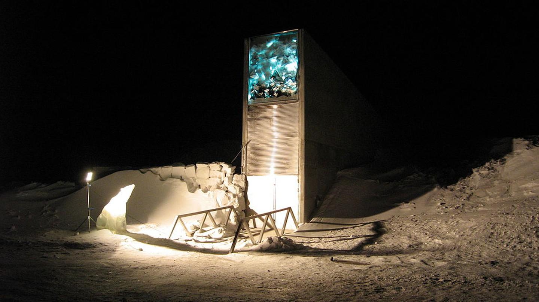 The Entrance to the Svalbard Global Seed Vault | NordGen/Dag Terje Filip Endresen | Public Domain