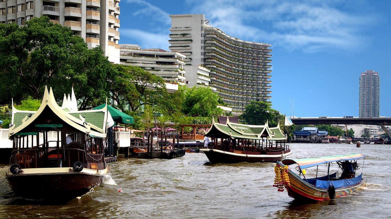 On the Chao Phraya. | © Courtesy of Bernard Spragg. NZ/Flickr