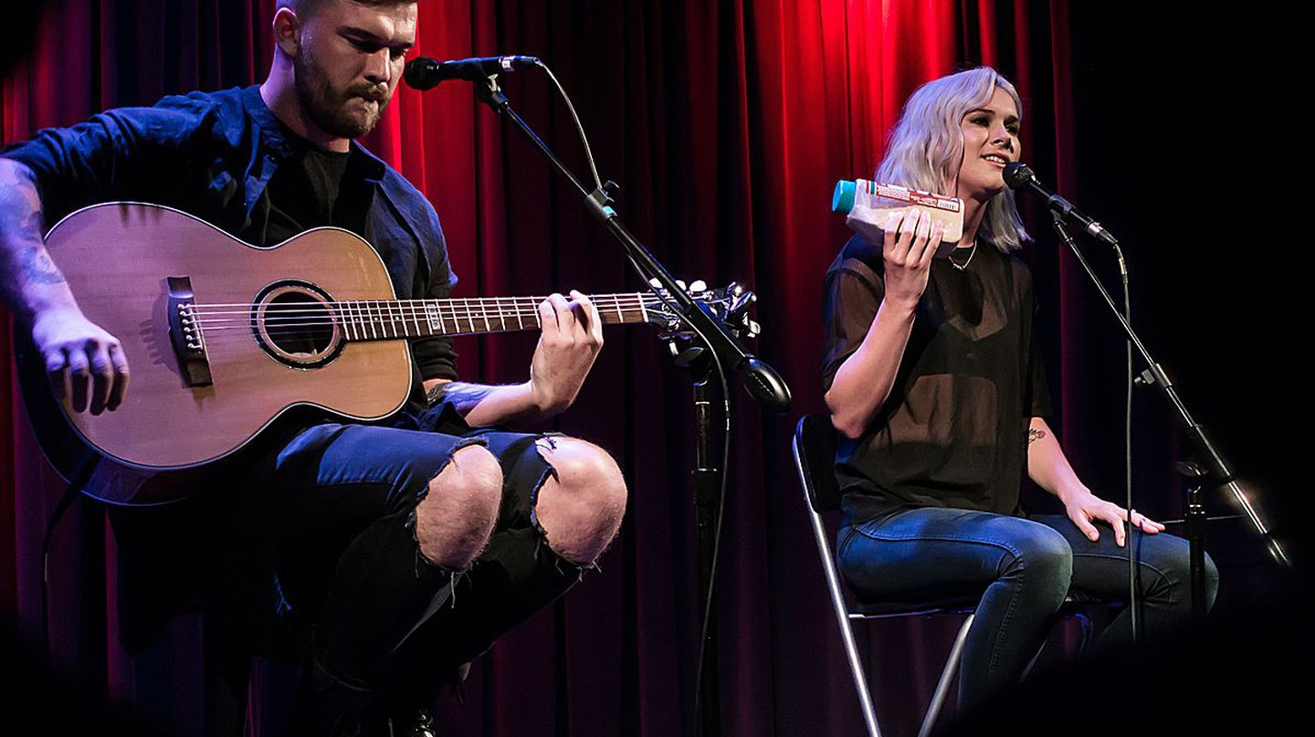 Broods at the Grammy Museum | © Justin Higuchi/Wikimedia Commons